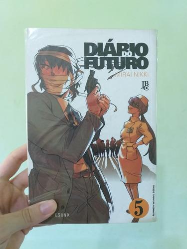 Mangá Mirai Nikki Diário Do Futuro Volume 5