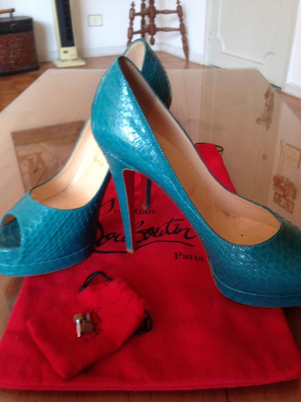 Sapato Lanboutin Tam 35, Usado Uma Unica Vez