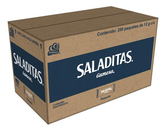 Galletas Saladitas 200 Paq. De 12 G. C/u