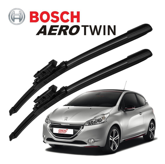 Palheta Limpador Parabrisa Bosch Aerotwin Peugeot 208 2014