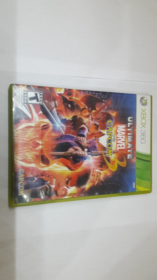 Original Xbox 360 Ultimate Marvel Vs Capcom 3 Midia Fisica