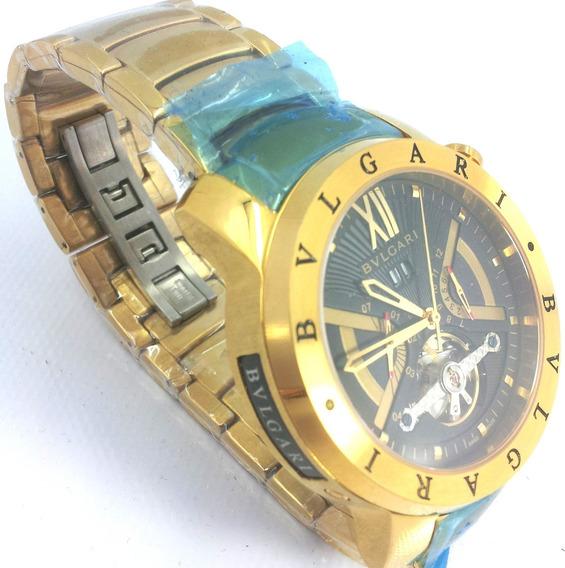 Relógio Bvlgari Ouro Automático X Funcional Original