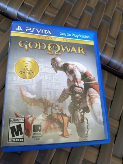 God Of War Colection Ps Vita Mídia Física Seminovo