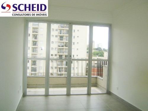 Imagem 1 de 15 de Próximo Ao Aeroporto D Congonhas: Apartamento Com 73 M² Com 3 Dormitórios, Garagem. - Mc3697