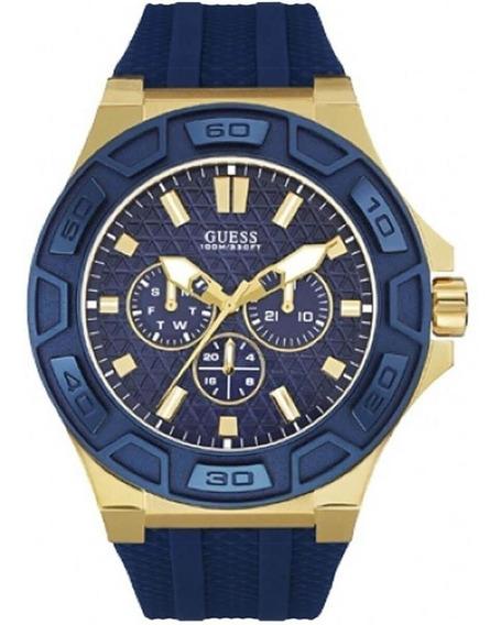 Relógio Masculino Guess 92587gpgsdu1 Borracha