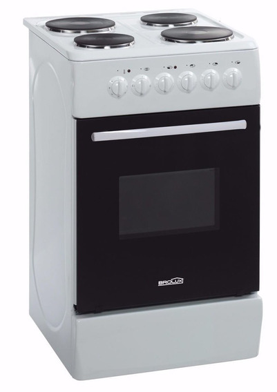 Cocina Electrica Brolux 4 Platos -horno-envio Gratis Consult