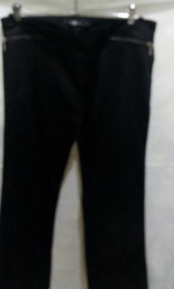 Pantalon De Gabardina Elastizada Inedita L