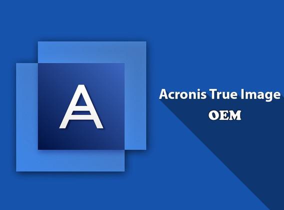 Acronis True Image Hd Oem Original