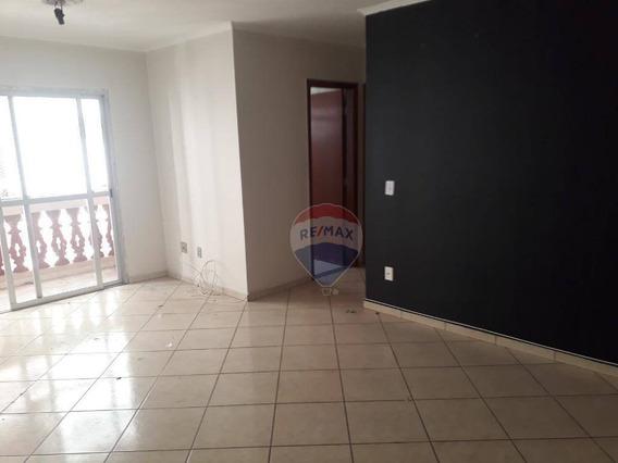 Ótimo Apartamento Com 2 Quartos, Sala Para Dois Ambientes, Cozinha, Área De Serviço - Ap0155