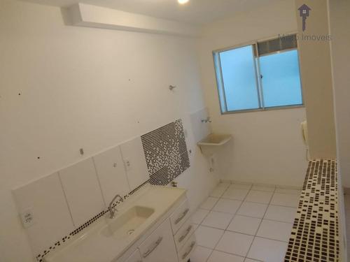 Apartamento Para Venda Parque Sicília - 47 M2, 2 Domirtórios - Votorantim - Ap0880