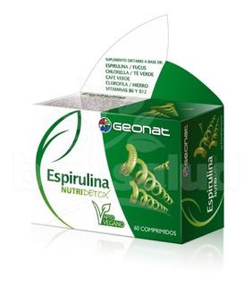 Espirulina + Focus + Chlorella + Vitaminas B6 Y B12 + Hierro