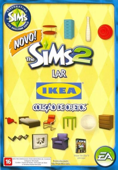 Game Pc Lacrado The Sims 2 Lar Ikea Colecao Objetos Cd-rom