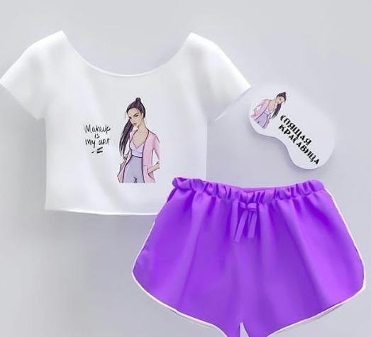Lindas Pijamas Comodas En Variedades De Colores Y Estampados