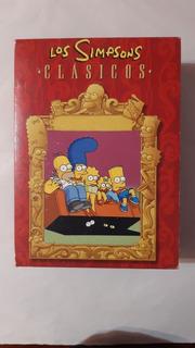 Dvd - Los Simpsons - Clasicos ( 4 Dvd En Su Caja )