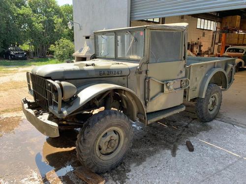Jeep Dodge M37 Militar 4x4  - Sin Motor - Camioneta, Pick Up