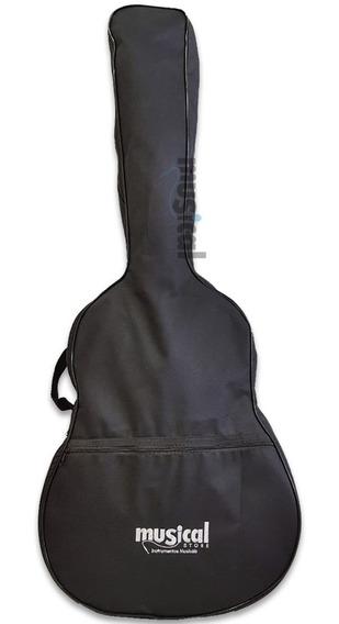 Capa Para Violão Clássico E Folk Aço