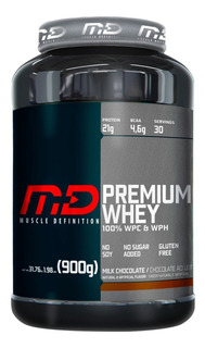 Whey Premium Md Muscle Definition 900g