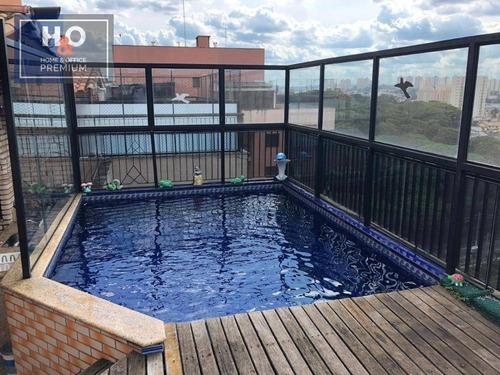 Imagem 1 de 30 de Cobertura Com 3 Dormitórios, 141 M² - Portal Do Morumbi - São Paulo/sp - Co0038