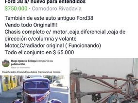 Ford Ford 38 Hot Rot/nuev