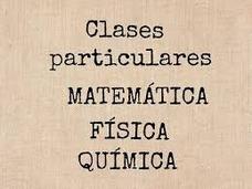 Clases Particulares Regularizaciones Y Cursos Para Exámenes.