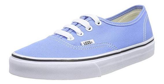 Zapatillas Vans Authentic Celeste !!! 100% Originales