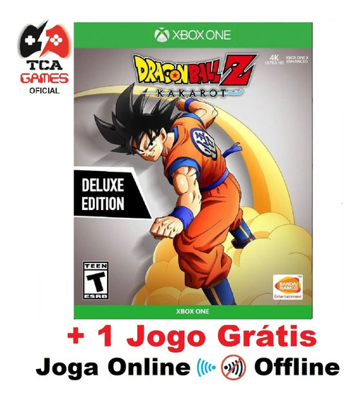 Dragon Ball Z Kakarot Ed. Luxo Xbox One Mídia Digital