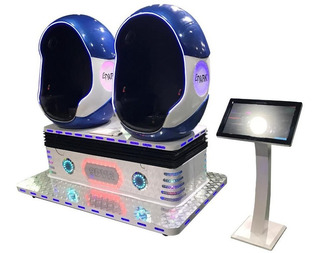 Arcade Plataforma 9d Vr 2 Asientos