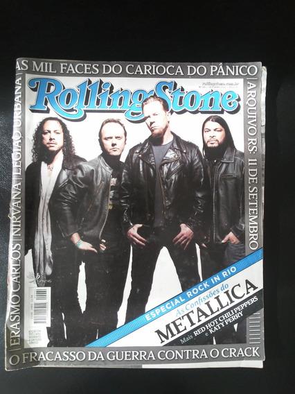 Revista Rolling Stones Especial Rock In Rio Metallica