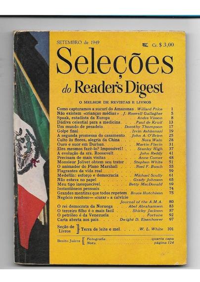 *sll* Revista Seleções Do Readers Digest - Setembro De 1949