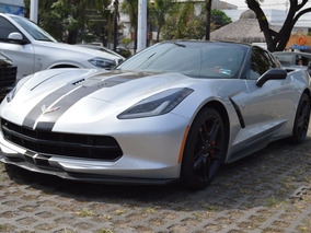 Chevrolet Corvette 2016 Stingray Z51 Plata