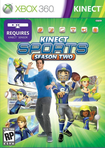 Jogo Kinect Sports Season Two Xbox 360 Original Pronta Entrg