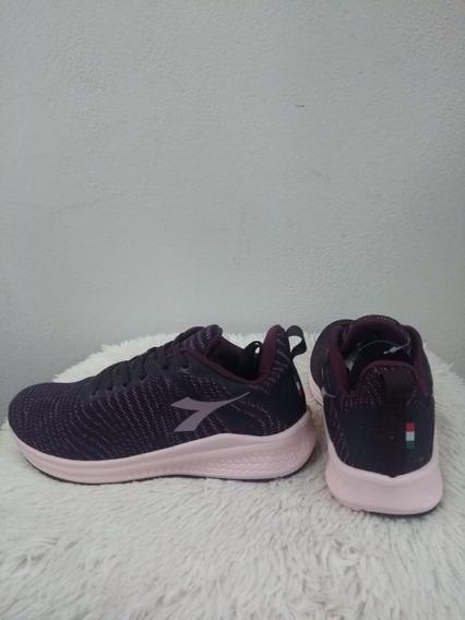 Tenis Diadora 125541 Spin Purple/rose