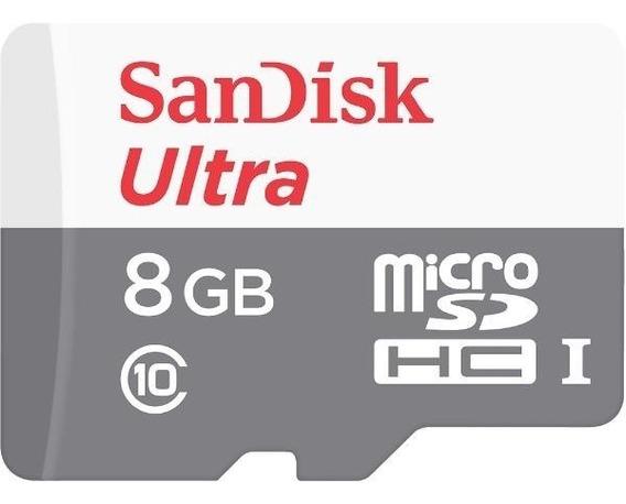 Cartão Memoria Micro Sd 8gb Classe10 Ultra 100% Original