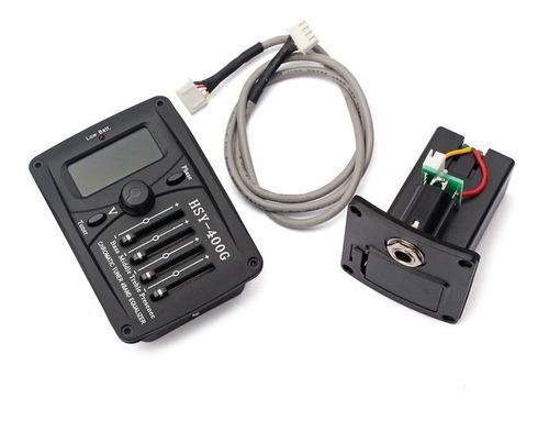 Ecualizador Hsy-400g Micrófono Guitarra 4 Bandas