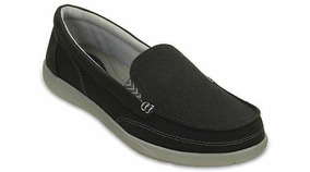 Crocs Outlet Dama Walu Ll Canvas Loafer