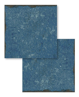 Porcelanato Para Pileta Atlantis 20x20 Portinari Azul Brillo