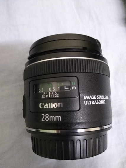 Lente Canon 28mm 2.8 Is