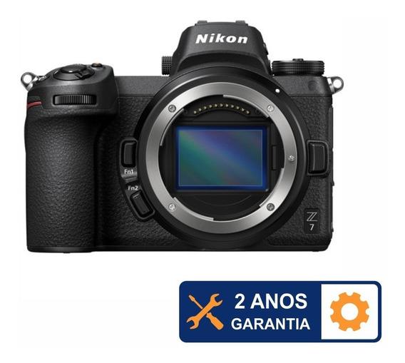 Câmera Nikon Z7 Mirrorless 4k 45.7mp - Temos Loja