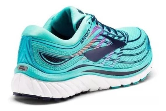 Zapas Brooks Glycerin 15 Mujer Running- Neutra- Salas.