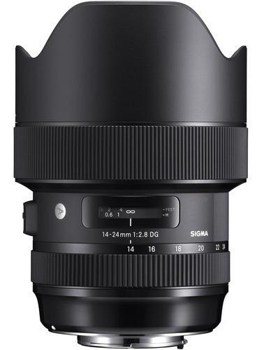 Lente Sigma 14-24mm F/2.8 Dg Hsm Art Para Nikon - Temos Loja