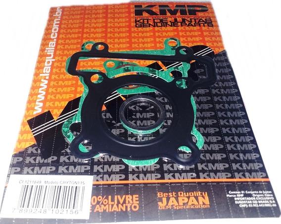 Kit Juntas Cabeçote Completo Yamaha Crypton 115 2006 ...