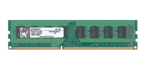 Imagem 1 de 1 de Memória RAM ValueRAM  4GB 1 Kingston KVR1066D3N7/4G