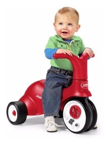 Radio Flyer Triciclo Scoot 2 En I Ride On...