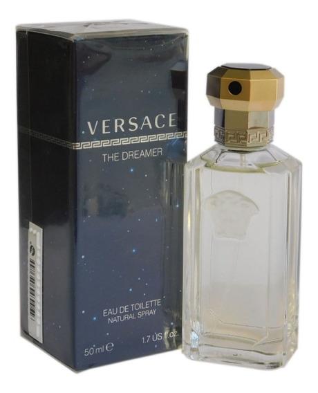 Perfume Versace The Dreamer Edt 50ml Masculino Original
