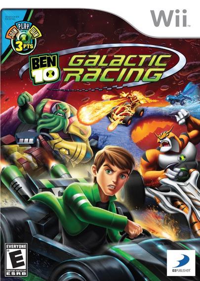 Jogo Ben 10 Galatic Racing Nintendo Wii Origina Frete Grátis