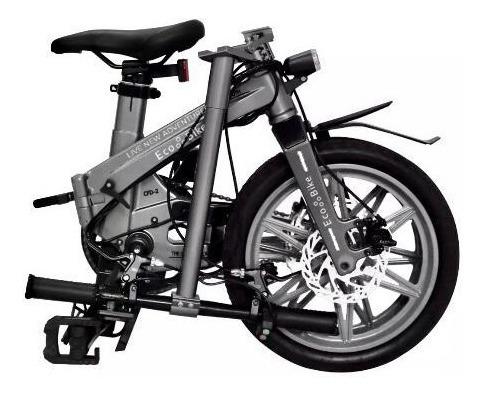 Bicicleta Electrica- Plegable-pedaleo Asistido-la + Liviana