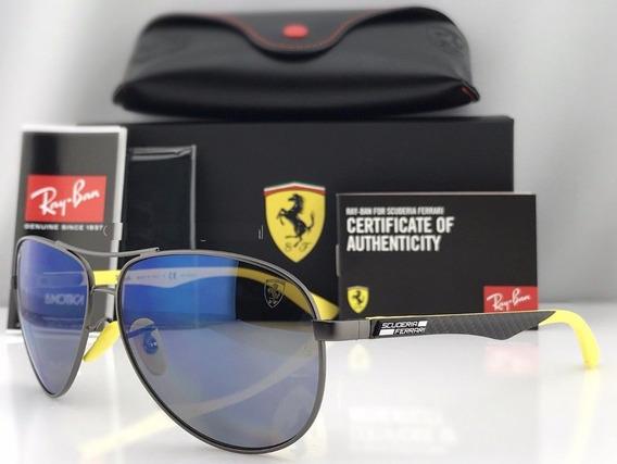 Oculos De Sol Masculino Scuderia Ferrari Rb8313m 2019
