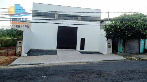 Barracão À Venda, 311 M² Por R$ 900.000 - Jardim Do Lago - Campinas/sp - Ba0213