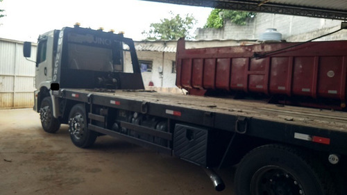 Imagem 1 de 13 de Caminhão Prancha Volkswagem 24250 Costelashion 2012
