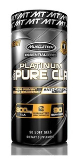 Muscletech Platinum 100% Pure Cla 90 Capsulas De Gel
